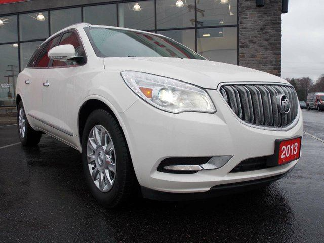 2013 buick enclave leather all wheel drive sport utility huntsville ontario used car for sale. Black Bedroom Furniture Sets. Home Design Ideas