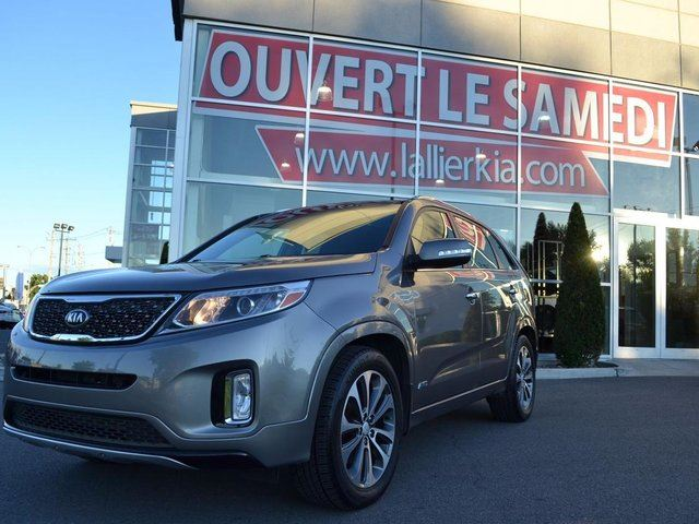 2014 kia sorento sx garantie 10 ans 200 000km garantie 10 ans 200 000km grey kia lallier. Black Bedroom Furniture Sets. Home Design Ideas
