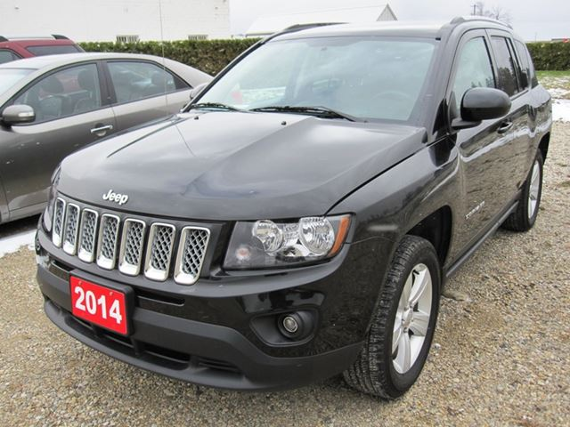 2014 jeep compass north mount forest ontario car for sale 2124650. Black Bedroom Furniture Sets. Home Design Ideas