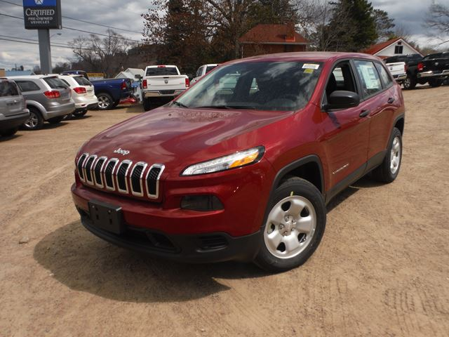 2015 jeep cherokee sport huntsville ontario new car for sale. Black Bedroom Furniture Sets. Home Design Ideas