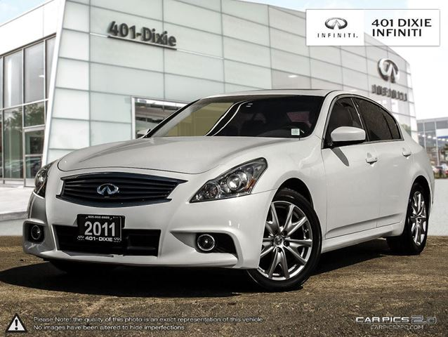 2011 infiniti g37x navigation sport flawless white. Black Bedroom Furniture Sets. Home Design Ideas