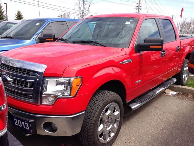 2013 Ford F 150 Xlt Red Meadowvale Ford Wheels Ca