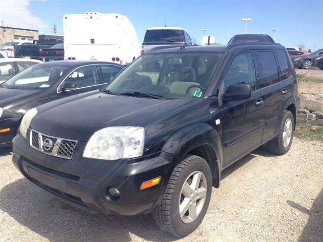 2005 nissan x trail se black gorruds auto group milton. Black Bedroom Furniture Sets. Home Design Ideas