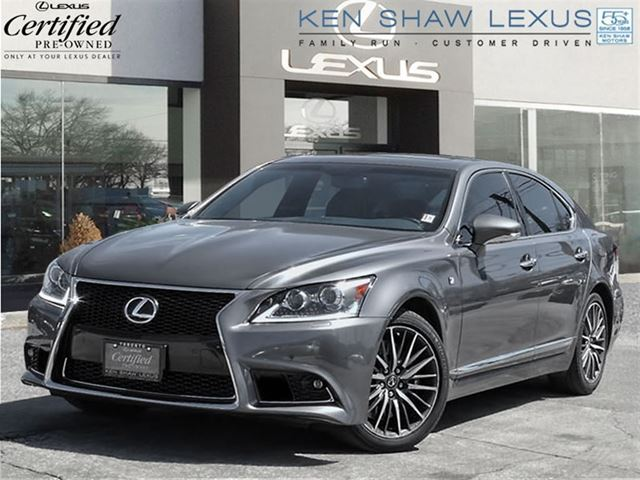2013 lexus ls 460 awd f sport package toronto ontario used car for sale 2127398. Black Bedroom Furniture Sets. Home Design Ideas