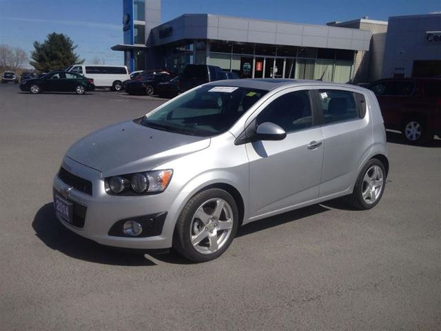 2014 chevrolet sonic lt cornwall ontario used car for. Black Bedroom Furniture Sets. Home Design Ideas