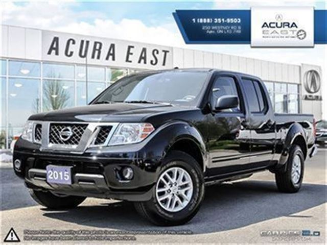 2015 nissan frontier sv 4x4 ajax ontario used car for. Black Bedroom Furniture Sets. Home Design Ideas