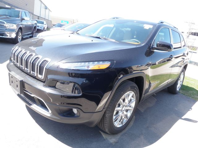 2015 jeep cherokee limited 4x4 milton ontario new car for sale 2127609. Black Bedroom Furniture Sets. Home Design Ideas