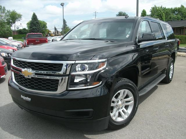 2015 chevrolet suburban 1500 lt chateauguay quebec used car for sale 2129871. Black Bedroom Furniture Sets. Home Design Ideas