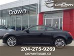2012 Infiniti G37 x SPORT AWD COUPE, ONE OWNER, ACCIDENT FREE FOR ONLY in Winnipeg, Manitoba