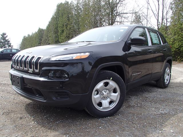 2015 jeep cherokee sport port hope ontario new car for sale. Black Bedroom Furniture Sets. Home Design Ideas