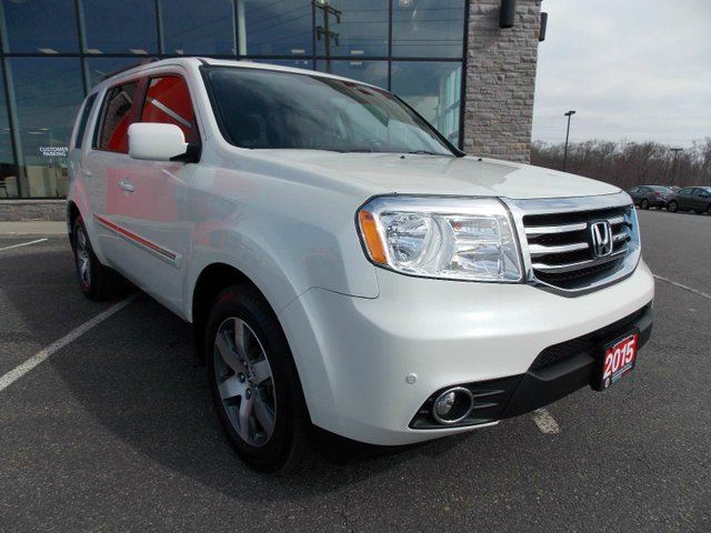 2015 honda pilot touring 4x4 fully loaded w leather and for 2015 white honda pilot