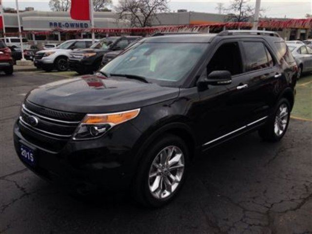 2015 ford explorer limited burlington ontario used car for sale 2132030. Black Bedroom Furniture Sets. Home Design Ideas