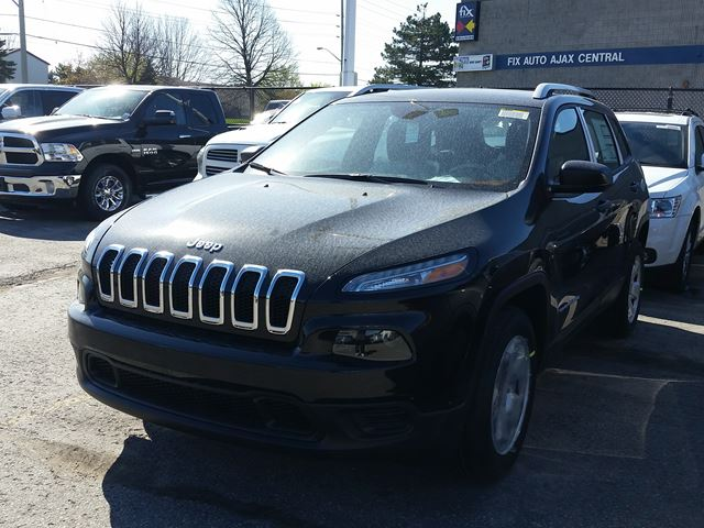 2015 jeep cherokee sport ajax ontario used car for sale 2131932. Black Bedroom Furniture Sets. Home Design Ideas