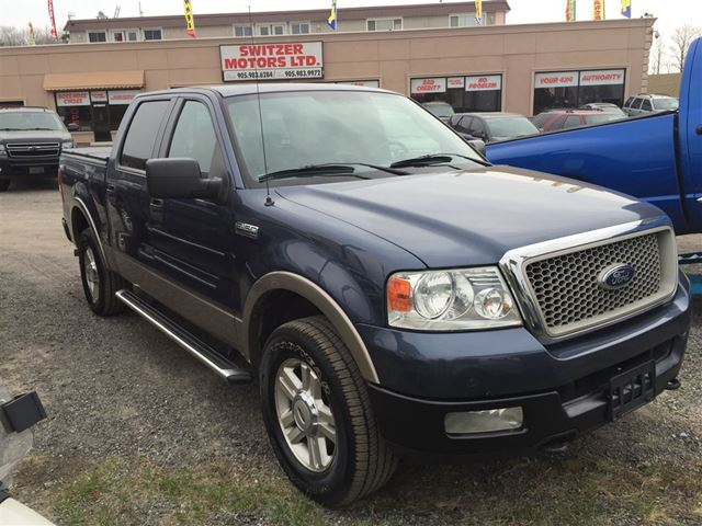 2004 ford f 150 lariat orono ontario used car for sale. Black Bedroom Furniture Sets. Home Design Ideas