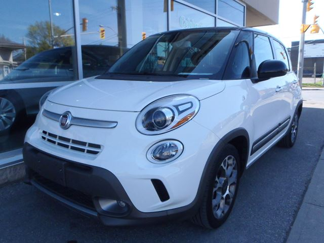 2014 fiat 500l trekking white manley motors limited for Manley motors used cars