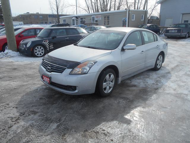 2007 nissan altima 2 5 s ottawa ontario car for sale. Black Bedroom Furniture Sets. Home Design Ideas