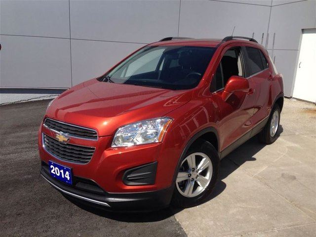 2014 chevrolet trax lt toronto ontario used car for sale 2135789. Black Bedroom Furniture Sets. Home Design Ideas