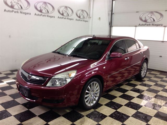 2007 saturn aura xr  3 6 l v6 with 6 speed auto alloy rims paddl   fonthill ontario used car