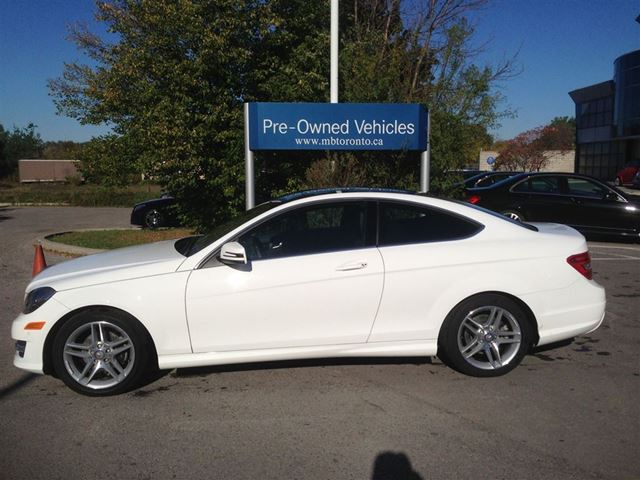 2013 Mercedes Benz C250 Coupe Markham Ontario Used Car
