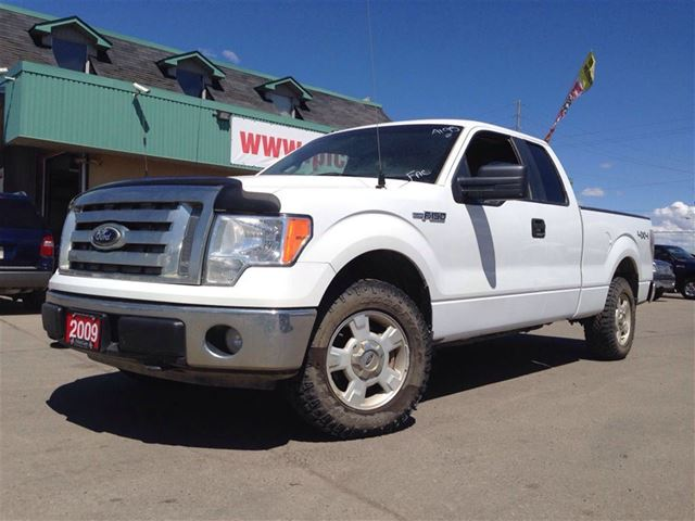 2009 ford f 150 xlt 4x4 always over 50 trucks in stoc bolton ontario used car for sale. Black Bedroom Furniture Sets. Home Design Ideas