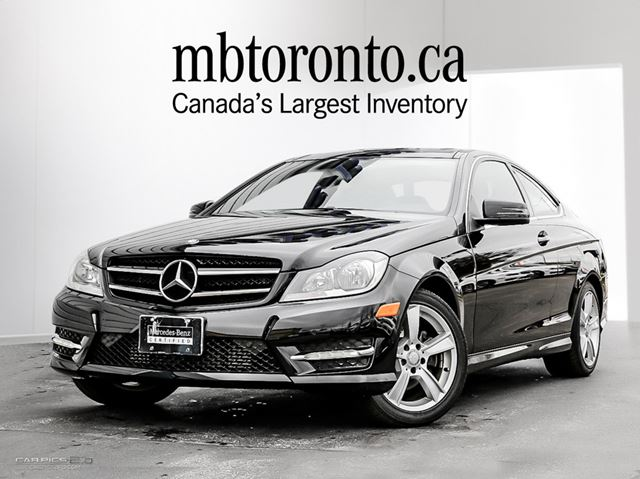 2014 mercedes benz c250 coupe black mercedes benz etobicoke. Black Bedroom Furniture Sets. Home Design Ideas