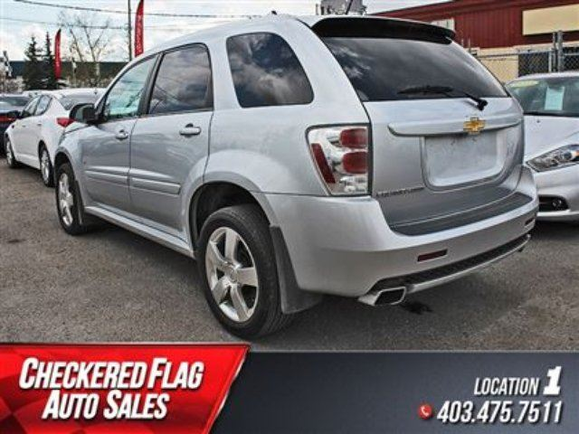 2009 chevrolet equinox sport w heated leather sunroof low kms calgary alberta used car for. Black Bedroom Furniture Sets. Home Design Ideas