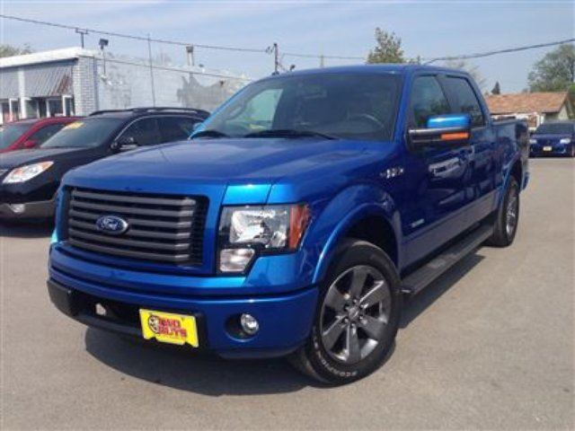 2012 ford f 150 fx2 blue two guys quality cars. Black Bedroom Furniture Sets. Home Design Ideas