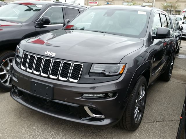 2015 jeep grand cherokee srt 4x4 vaughan ontario new car for sale 2140584. Black Bedroom Furniture Sets. Home Design Ideas