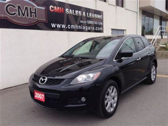 2007 mazda cx 7 black cmh sales and leasing. Black Bedroom Furniture Sets. Home Design Ideas