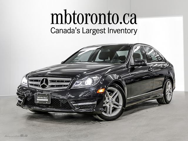2012 mercedes benz c300 sedan magnetite black met mercedes benz mississauga. Black Bedroom Furniture Sets. Home Design Ideas