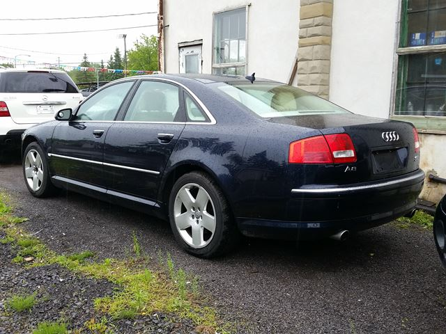 2007 audi a8 ottawa ontario car for sale 2142874. Black Bedroom Furniture Sets. Home Design Ideas