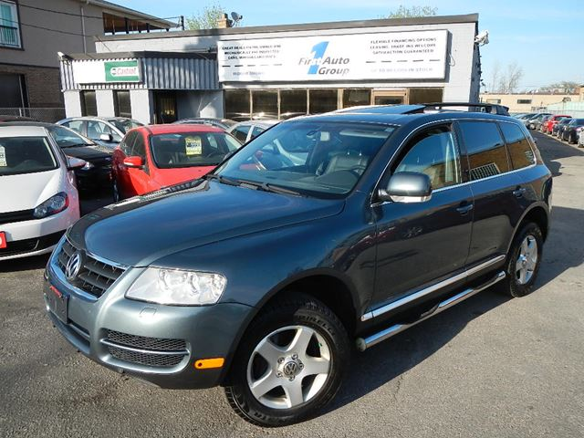 2004 volkswagen touareg blue 1st auto group. Black Bedroom Furniture Sets. Home Design Ideas