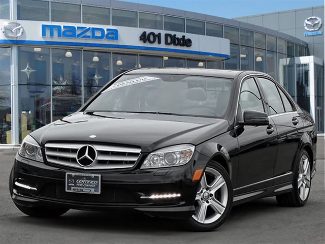 2011 mercedes benz c class c300 black 401 dixie mazda for 2011 mercedes benz c class c300