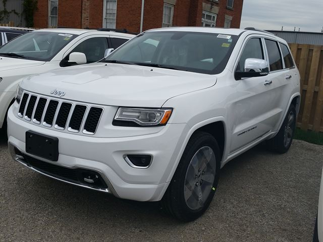 2015 jeep grand cherokee overland 4x4 milton ontario new car for sale 2144516. Black Bedroom Furniture Sets. Home Design Ideas