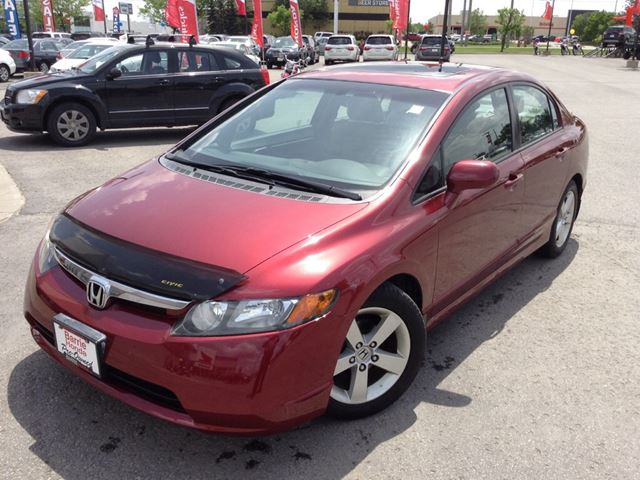 2008 honda civic ex l barrie ontario used car for sale. Black Bedroom Furniture Sets. Home Design Ideas