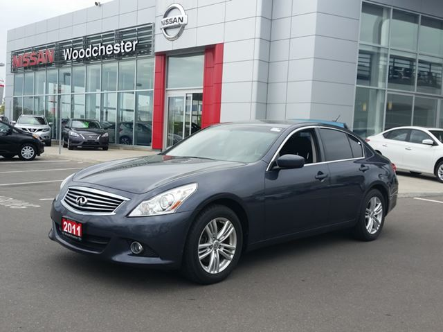 2011 infiniti g37x sedan blue woodchester nissan and. Black Bedroom Furniture Sets. Home Design Ideas