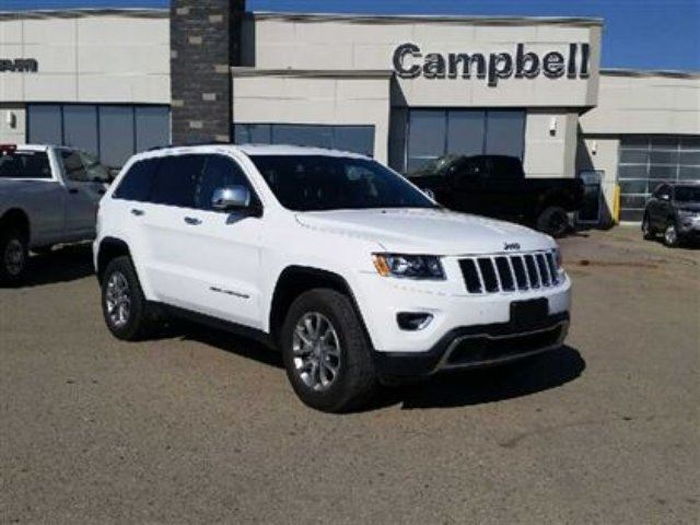 2014 jeep grand cherokee limited fairview alberta used car for sale 2147795. Black Bedroom Furniture Sets. Home Design Ideas