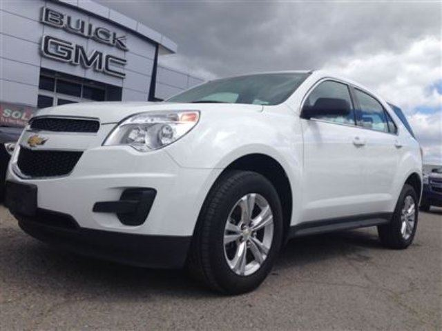 2015 chevrolet equinox ls awd a c bluetooth white gus. Black Bedroom Furniture Sets. Home Design Ideas