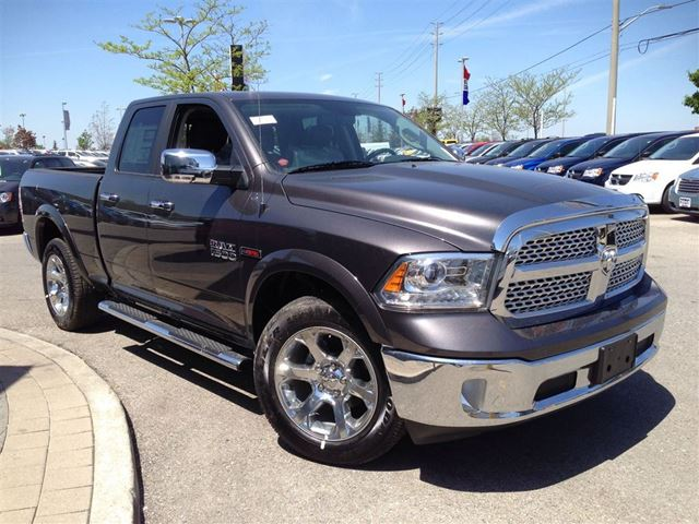 2015 dodge ram 1500 4x4 quad cab laramie 3 0l v6 eco diese mississauga ontario used. Black Bedroom Furniture Sets. Home Design Ideas