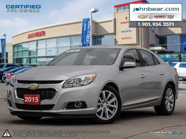 2015 chevrolet malibu 2lt st catharines ontario used. Black Bedroom Furniture Sets. Home Design Ideas