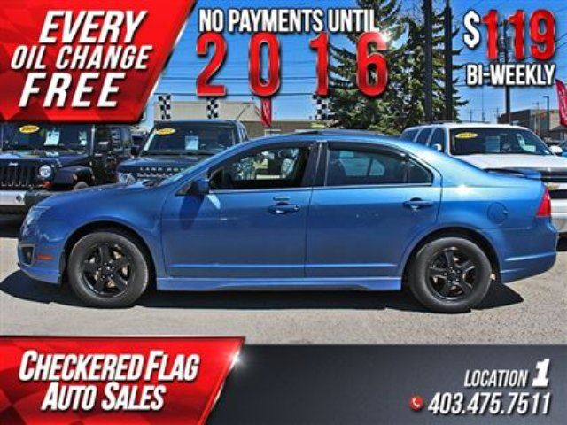 2010 ford fusion sport w heated leather sunroof awd calgary alberta used car for sale 2148026. Black Bedroom Furniture Sets. Home Design Ideas