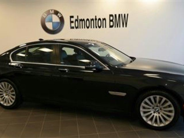 2014 bmw 7 series 750i xdrive edmonton alberta used car. Black Bedroom Furniture Sets. Home Design Ideas