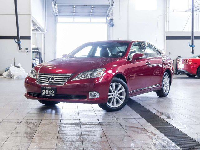 2012 lexus es 350 navigation red auto loan kelowna. Black Bedroom Furniture Sets. Home Design Ideas