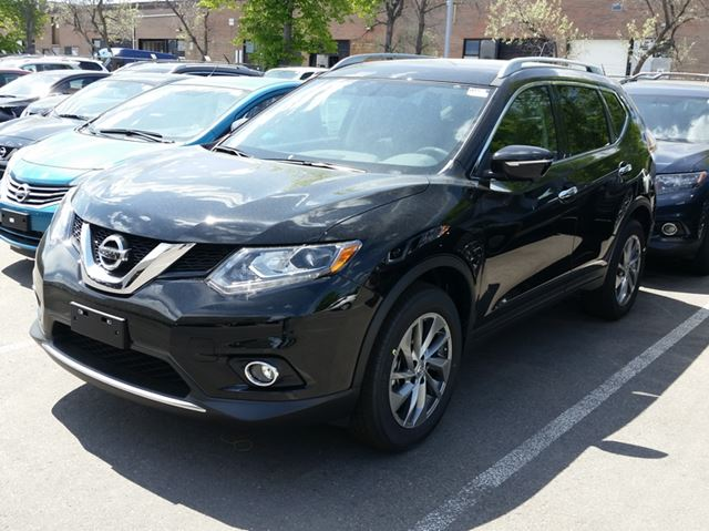 2015 nissan rogue sl mississauga ontario new car for sale 2150232. Black Bedroom Furniture Sets. Home Design Ideas