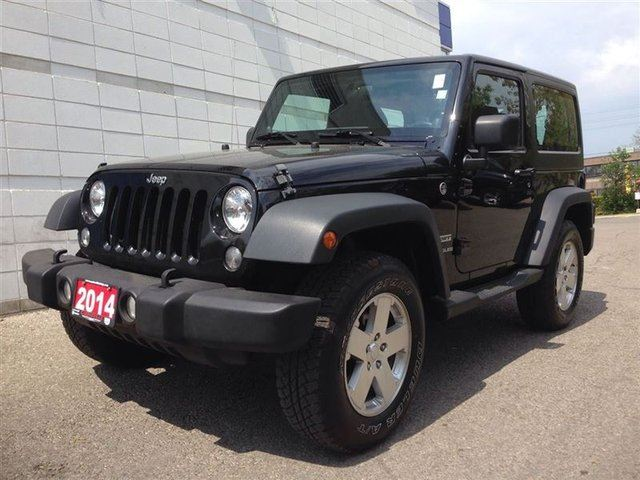 2014 jeep wrangler sport mississauga ontario used car for sale 2151080. Black Bedroom Furniture Sets. Home Design Ideas