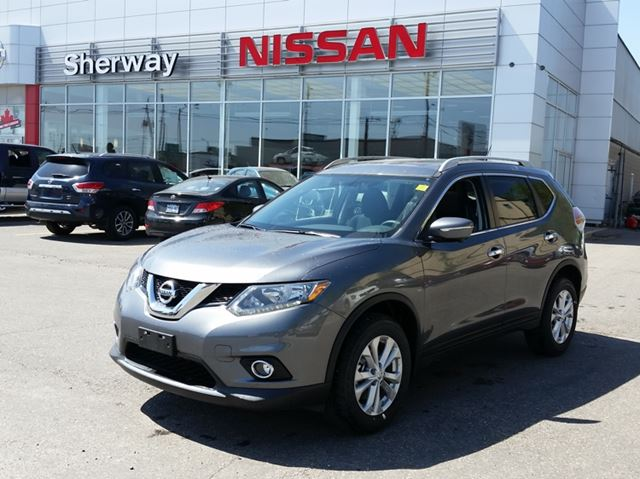 2015 nissan rogue sv toronto ontario new car for sale 2151315. Black Bedroom Furniture Sets. Home Design Ideas