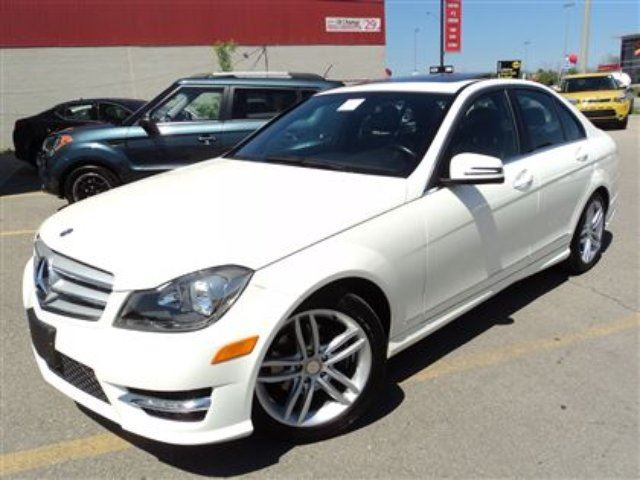 2012 Mercedes Benz C Class C250 4matic Sunroof Sports