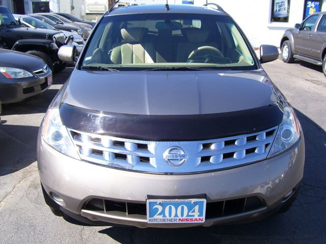 2004 nissan murano se awd kitchener ontario used car for sale 2152699. Black Bedroom Furniture Sets. Home Design Ideas