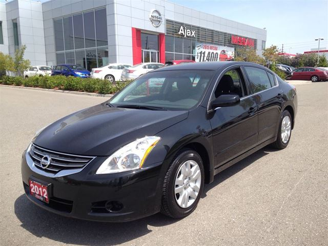 2012 nissan altima 2 5 s ajax ontario used car for sale. Black Bedroom Furniture Sets. Home Design Ideas