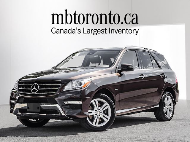 2012 mercedes benz m class ml350 bluetec 4matic markham. Black Bedroom Furniture Sets. Home Design Ideas